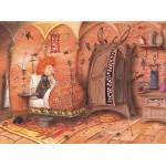 Puzzle  Grafika-02165 François Ruyer - Die Hexe