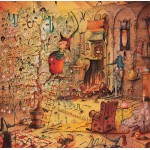 Puzzle  Grafika-02167 François Ruyer - Die Hexe