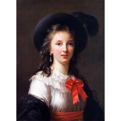 Puzzle  Grafika-02179 Louise-Élisabeth Vigee le Brun: selfportrait, 1781