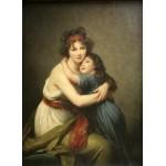 Puzzle  Grafika-02183 Elisabeth Vigée-Lebrun: Madame Vigée-Lebrun and her daughter, 1789
