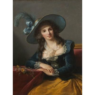 Puzzle  Grafika-02188 Louise-Élisabeth Vigee le Brun: Comtesse de Segur, 1785
