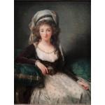Puzzle  Grafika-02189 Louise-Élisabeth Vigee le Brun: Madame d'Aguesseau de Fresnes, 1789