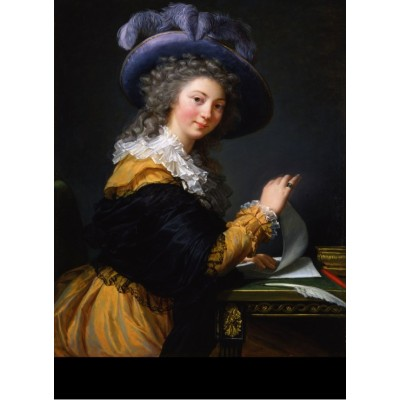 Puzzle  Grafika-02192 Louise-Élisabeth Vigee le Brun: Comtesse de Cérès, 1784