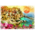 Puzzle  Grafika-02198 Travel around the World - Italien