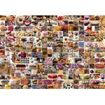 Puzzle  Grafika-02206 Collage - Kuchen