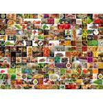 Puzzle  Grafika-02214 Küche in Farbe