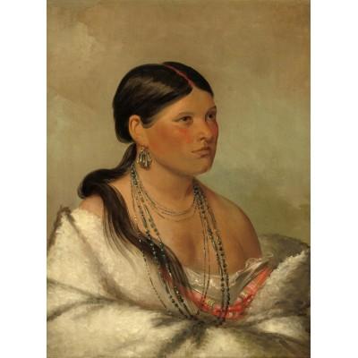 Puzzle  Grafika-02232 George Catlin: The Female Eagle - Shawano, 1830