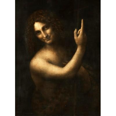 Puzzle  Grafika-02247 Leonard de Vinci : Saint Jean-Baptiste, 1513