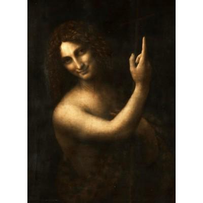 Puzzle  Grafika-02249 Leonard de Vinci : Saint Jean-Baptiste, 1513