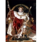 Puzzle  Grafika-02255 Jean-Auguste-Dominique Ingres: Napoléon on the Imperial Throne, 1806