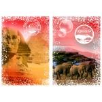 Puzzle  Grafika-02274 Travel around the World - Afrika, Ägypten und Kenia
