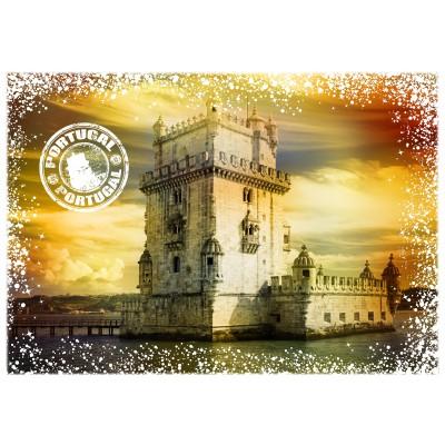 Puzzle  Grafika-02275 Travel around the World - Portugal