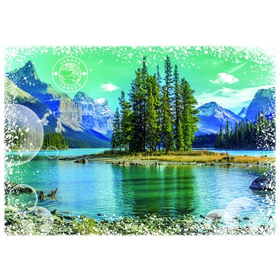 Puzzle  Grafika-02278 Travel around the World - Kanada