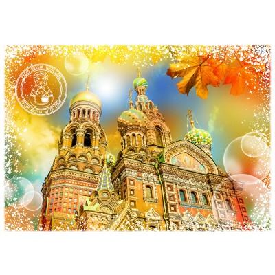 Puzzle  Grafika-02280 Travel around the World - Russland