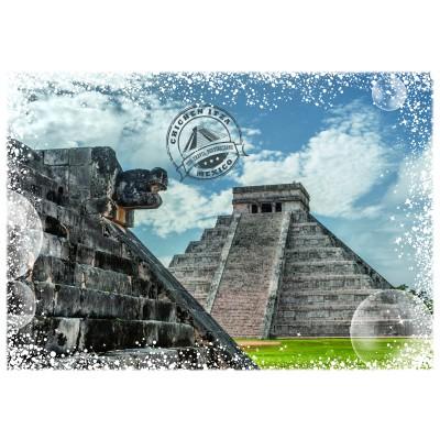 Puzzle  Grafika-02282 Travel around the World - Mexiko