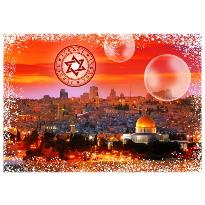 Puzzle  Grafika-02288 Travel around the World - Israel