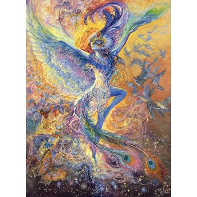 Puzzle  Grafika-02292 Josephine Wall - Blue Bird