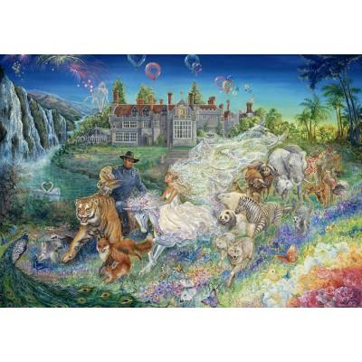 Puzzle  Grafika-02303 Josephine Wall - Fantasy Wedding