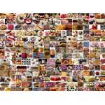 Puzzle  Grafika-02311 Collage - Kuchen