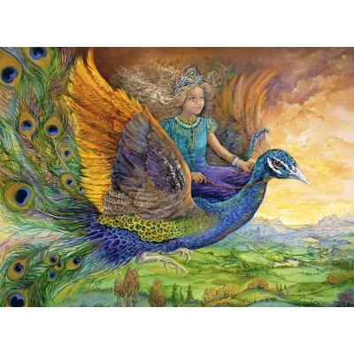 Puzzle  Grafika-02312 Josephine Wall - Peacock Princess