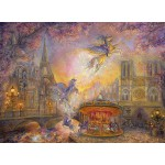 Puzzle  Grafika-02314 Josephine Wall - Magical Merry Go Round