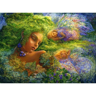 Puzzle  Grafika-02323 Josephine Wall - Moss Maiden