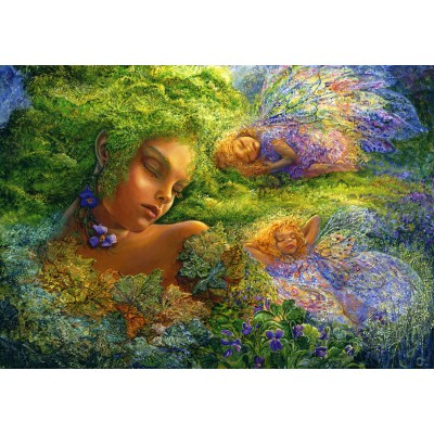 Puzzle  Grafika-02324 Josephine Wall - Moss Maiden