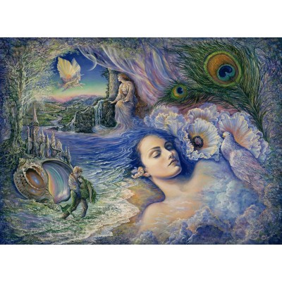 Puzzle  Grafika-02355 Josephine Wall - Whispered Dreams
