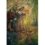 Puzzle  Grafika-02368 Josephine Wall - The Wood Nymph