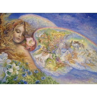 Puzzle  Grafika-02369 Josephine Wall - Wings of Love