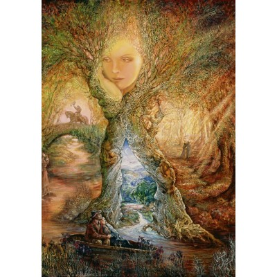 Puzzle  Grafika-02376 Josephine Wall - Willow World
