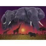 Puzzle  Grafika-02396 Schim Schimmel - Africa's Children