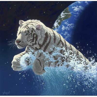 Puzzle  Grafika-02407 Schim Schimmel - Leap of Creation