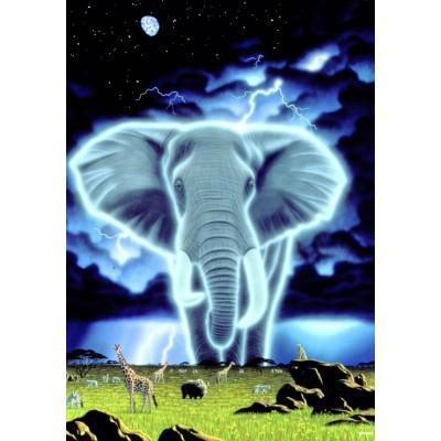Puzzle Grafika-02413 Schim Schimmel - Spirit of Africa