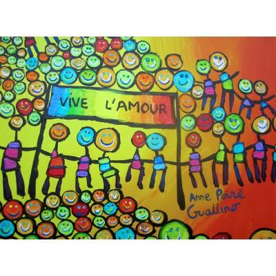 Puzzle  Grafika-02432 Anne Poiré & Patrick Guallino - Vive l'Amour