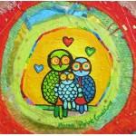 Puzzle  Grafika-02447 Anne Poiré & Patrick Guallino - Le Nid Porte-bonheur
