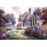 Puzzle  Grafika-02491 Dennis Lewan - Elmira's Cottage