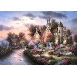 Puzzle  Grafika-02492 Dennis Lewan - Mill Creek Manor