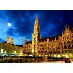 Puzzle  Grafika-02520 Deutschland Edition - München, Rathaus