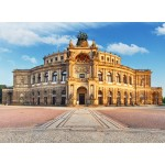 Puzzle  Grafika-02538 Deutschland Edition - Semperoper Dresden