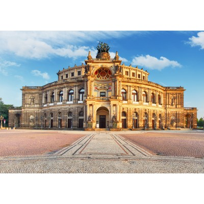 Puzzle Grafika-02539 Deutschland Edition - Semperoper Dresden