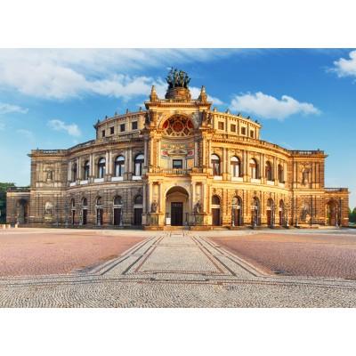 Puzzle  Grafika-02540 Deutschland Edition - Semperoper Dresden