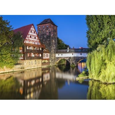 Puzzle  Grafika-02550 Deutschland Edition - Nürnberg