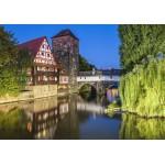 Puzzle  Grafika-02551 Deutschland Edition - Nürnberg