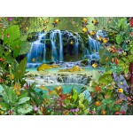 Puzzle  Grafika-02571 François Ruyer - Wasserfall