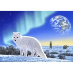 Puzzle  Grafika-02574 Schim Schimmel - Artic Fox