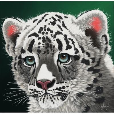 Puzzle  Grafika-02591 Schim Schimmel - Young Leopard