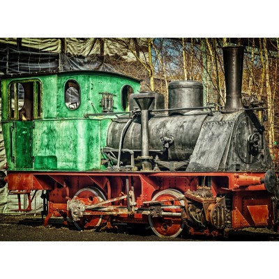 Puzzle  Grafika-02606 Lokomotive