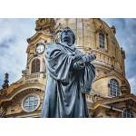Puzzle  Grafika-02615 Deutschland Edition - Frauenkirche, Martin Luther, Dresden