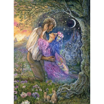 Puzzle  Grafika-02623 Josephine Wall - Love Between Dimensions